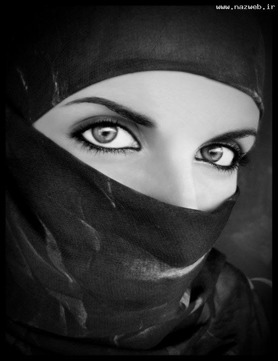 عکس های انتخاب دخترانی با چهره و چشمانی جذاب