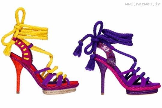 تصاویری از جدیدترین مدل کفش های فش زنانه