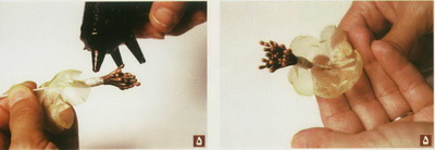 آموزش ساخت گل های پارچه ای
