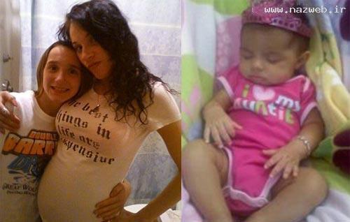 آزار جنسی مادری کثیف به کودک 10 ماهه اش(عکس)