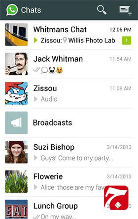 1 11 دانلود برنامه واتس اپ اندروید WhatsApp Messenger v2.11.432