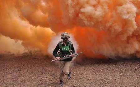 عکسهای جذاب,تمرینات نظامی ,تصاویر دیدنی