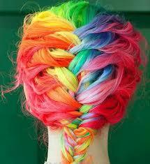 رنگ کردن مو با گچ رنگ مخصوص مو