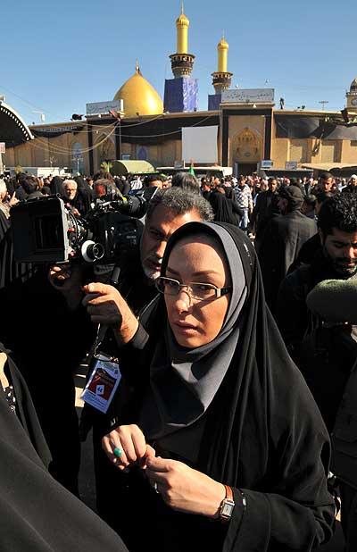 11781 7381 بازیگران زن ایرانی پشت دوربین با حجابی متفاوت