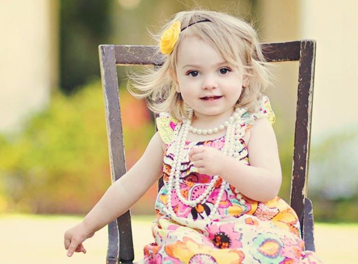 14 دختر بچه های خیلی ناز و زیبا+عکس