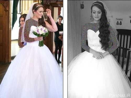 عکس های دیدنی 32 کیلو لاغر شدن عروس خانم