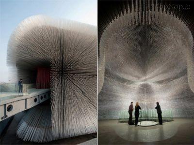 ساختمان های عجیب در جهان (10 عکس)
