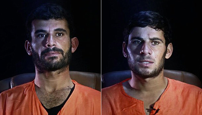 (تصاویر) مجازات 9جاسوس توسط داعش