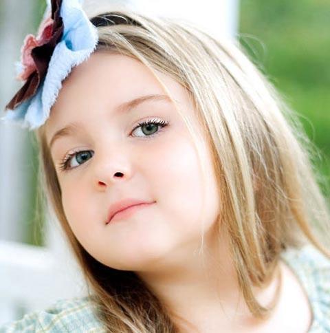 تصاویر بامزه از دختر بچه های خوشگل و ملوس