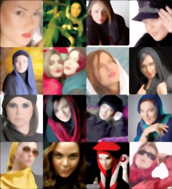 عکسهای بدحجاب بازیگران ایرانی