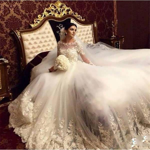 ناز ترین مدل های لباس عروس اروپایی