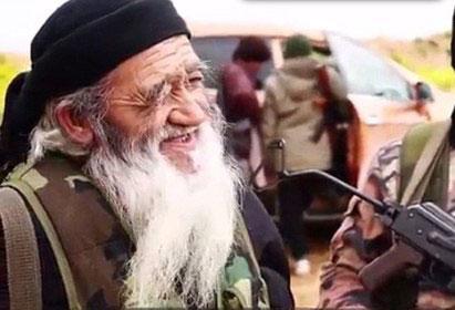 پیرترین عضو  حرامزاده داعش + تصاویر