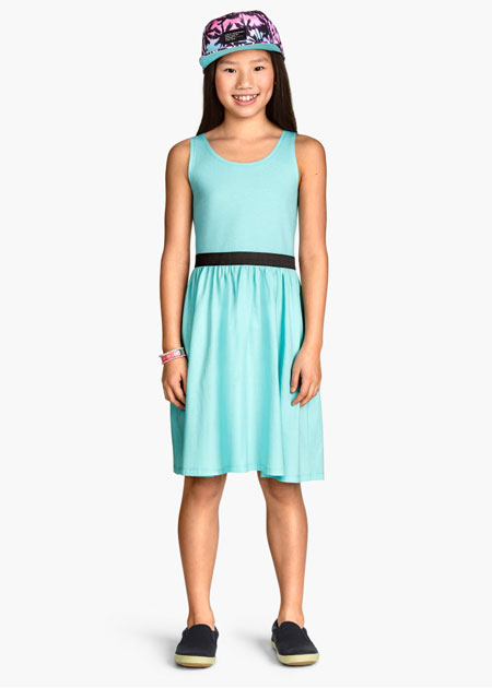 مدل پیراهن دخترانه,پیراهن خنک تابستانی