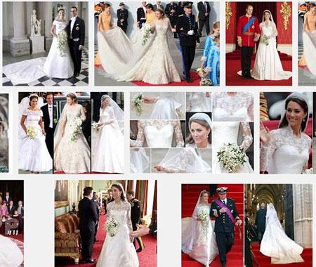 مدل لباس عروس پانزده پرنسس جهان