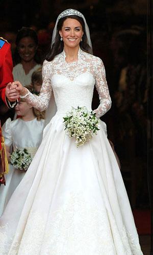 طراحان لباس های عروس پرنسس ها,جذابترین لباس عروسی پرنسس های جهان