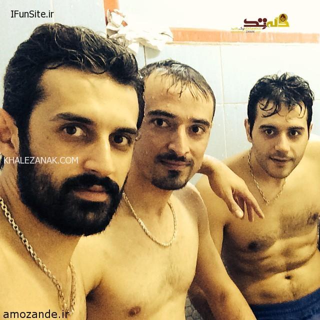 عکس های لخت سعید معروف در حمام !