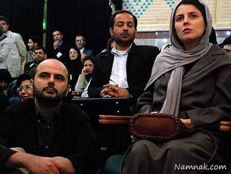 لیلا حاتمی و علی مصفا - هر دو بازیگر سینما