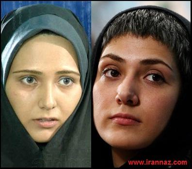 مقایسه عکس های متفاوت بازیگران زن ایرانی