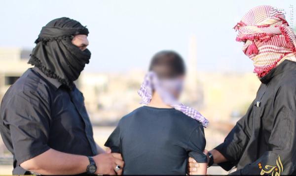 اعدام 4 عراقی با سقوط از ساختمان توسط داعش+عکس و فیلم
