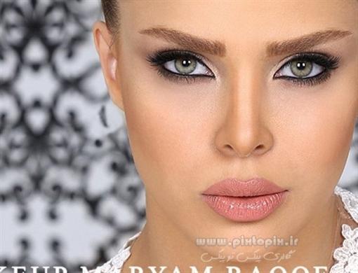 دانلود مدل جدید آرایش خفن عروس 2015