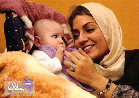 جدیدترین عکس مهناز افشار و دخترش,مهناز افشار
