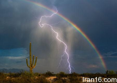 عکسهای جالب,تصاویر دیدنی,رعد و برق