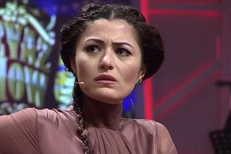 تصاویر دنیز چاکیر بازیگر نقش فرخنده در سریال برگ ریزان