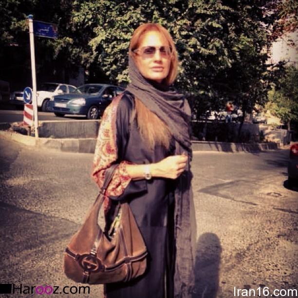 مهناز-افشار-در-خیابان