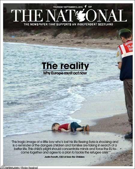 اخبار,اخباربین الملل ,مرگ  کودک مهاجر سوری