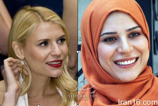 عکس دیده نشده بازیگران زن ایرانی بدون روسری !