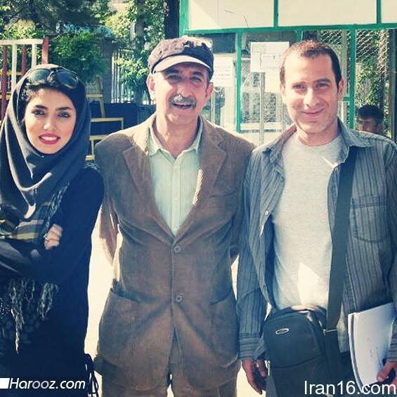 آزاده سدیری ، فرهاد آئیش و رامین ناصر نصیر