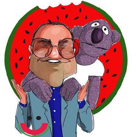 کاریکاتورهای لورفته رامبد و جناب خان !