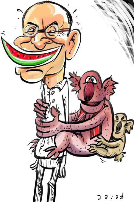 کاریکاتور جناب خان, کاریکاتورهای بامزه رامبد