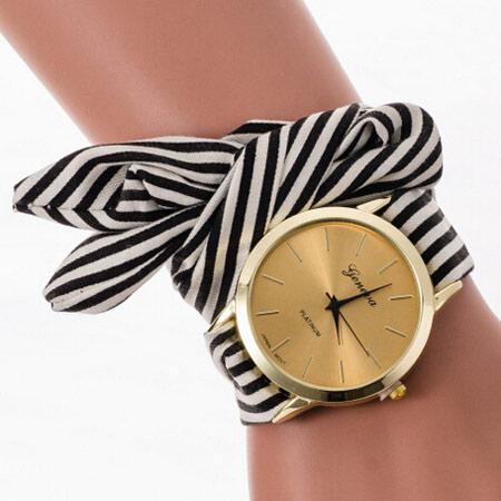 ساعت بند پارچه ای, مدل ساعت با بند پارچه ای