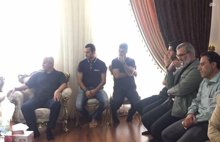 پرسپولیسیها و استقلالیها در خانه نوروزی+عکس