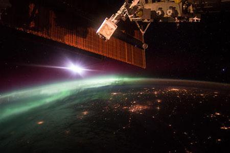عکسهای جالب,تصاویر دیدنی,ایستگاه فضایی