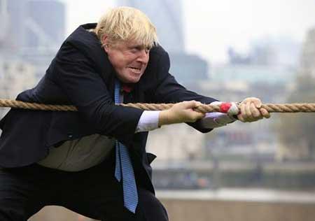 عکسهای جالب,تصاویر جالب,شهردار لندن