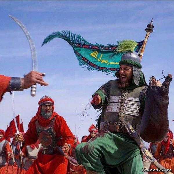 سکانس حذف شده از سریال مختارنامه ، حضرت عباس در مختارنامه ، سکانس حذف شده مختارنامه