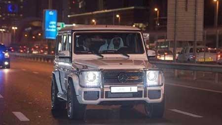 عکس های خودروی شخصی حاکم دبی