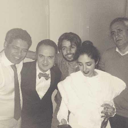 گلشیفته فراهانی با مجری معروف تلویزیون ازدواج کرد