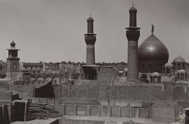 تصاویر صدسال قبل حرم امام حسین(ع)