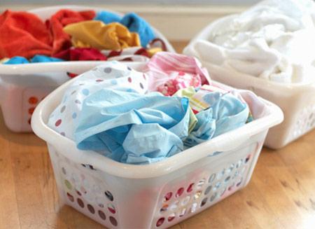 جلوگیری از رنگ پس دادن لباس,رنگ دادن لباس هنگام شستن
