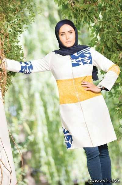 الناز شاکردوست ، الناز شاکردوست مانتو ، لباس پوشیدن بازیگران زن ایرانی
