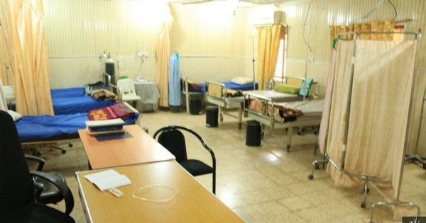 رونمایی داعش از بیمارستان خود ! + عکس