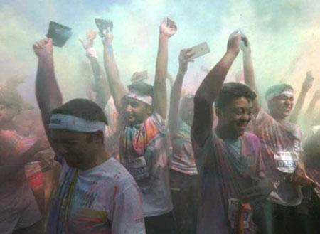 عکسهای جالب,تصاویر جالب,جشن رنگها