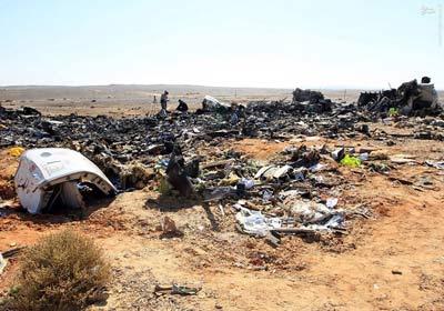 غمناکترین تصاویر از سقوط هواپیمای روسی +علت سقوط