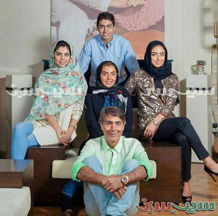 عکس دیده نشده خانواده زنده یاد محمد علی فردین
