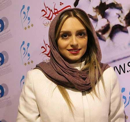 نهال دشتی و مریم کاویانی در حاشیه مراسم سریال شهرزاد