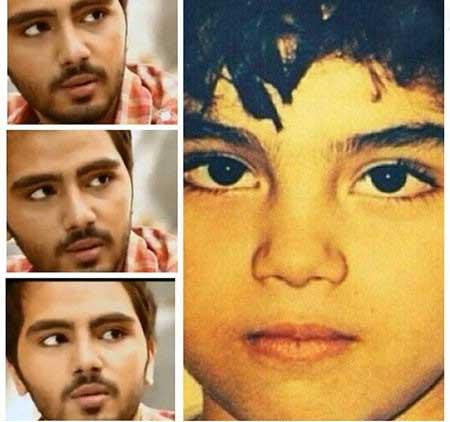 عکس دیده نشده کودکی علی طباطبایی