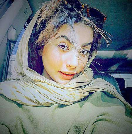 عکس بی حجاب سحرناز افتاده بازیگر زن ایرانی